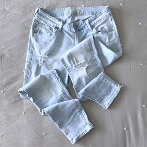 Old Navy | Rockstar Light Wash Distressed Jeans